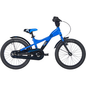 s'cool XXlite 18 3-S alloy Kids blue/black matt